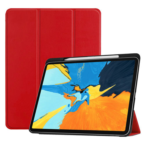 Trifold Sleep/Wake Smart Case & Stand for Apple iPad Pro 11-inch (1st Gen) - Red